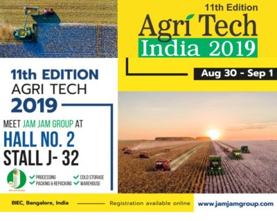 Agri Tech India 2019 | 11th Edition Bangalore, India