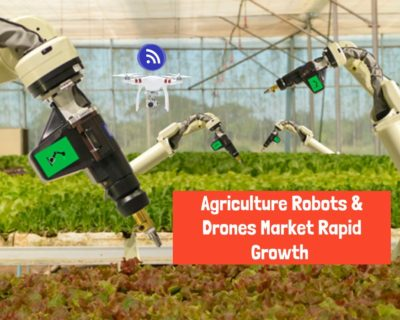 Agriculture Robots & Drones Market Rapid Growth