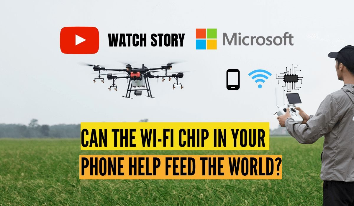 Can the Wi-Fi chip in your phone help feed the world?