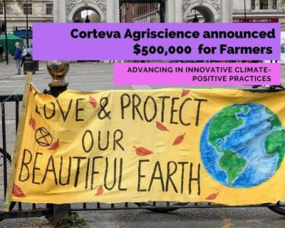 Corteva Agriscience announced a $500,000 commitment to farmers