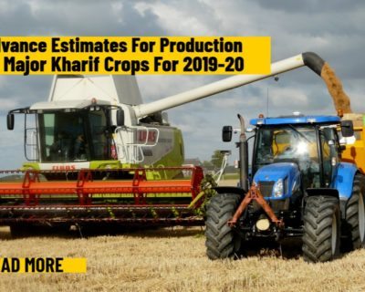 First Advance Estimates of production of major Kharif crops for 2019-20