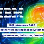 IBM introduces GARF weather forecasting model system for governments, industries, farmers