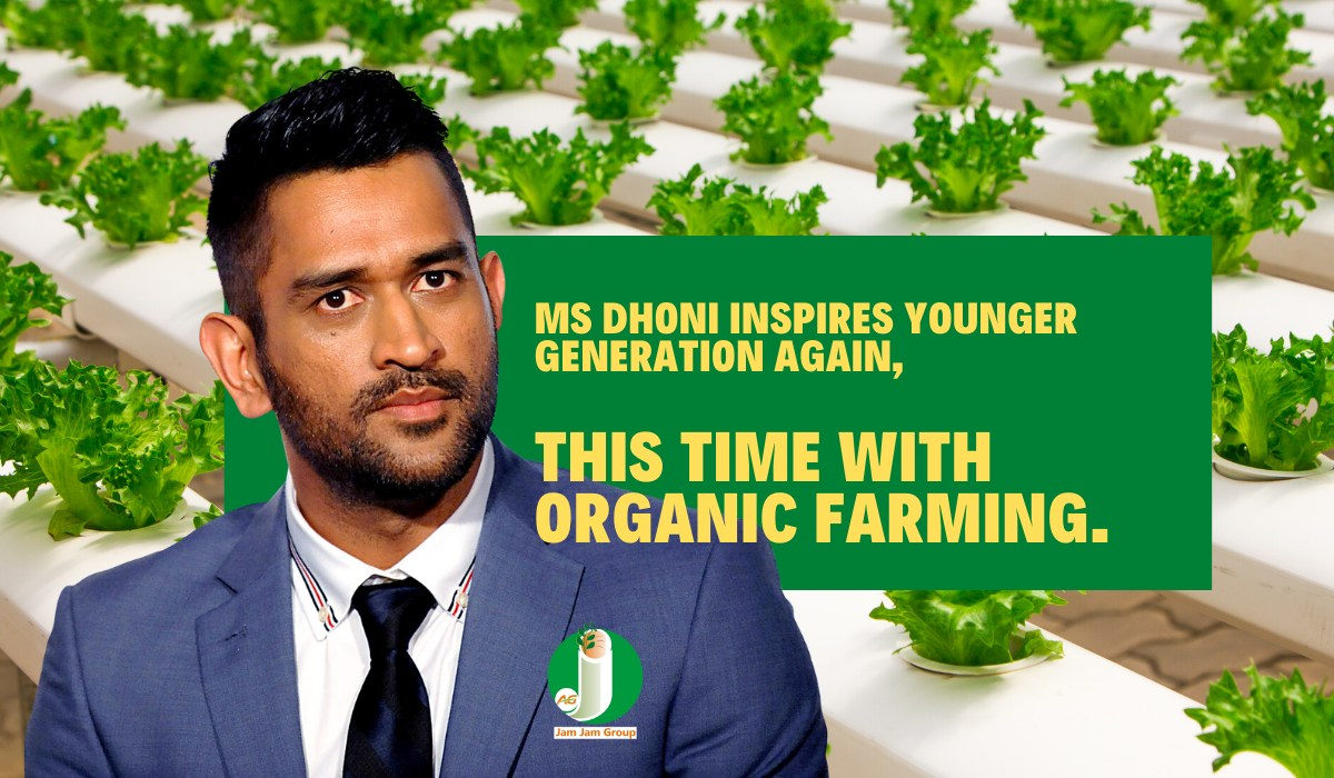 MS Dhoni Inspires Younger Generation Again, This Time With Organic Farming