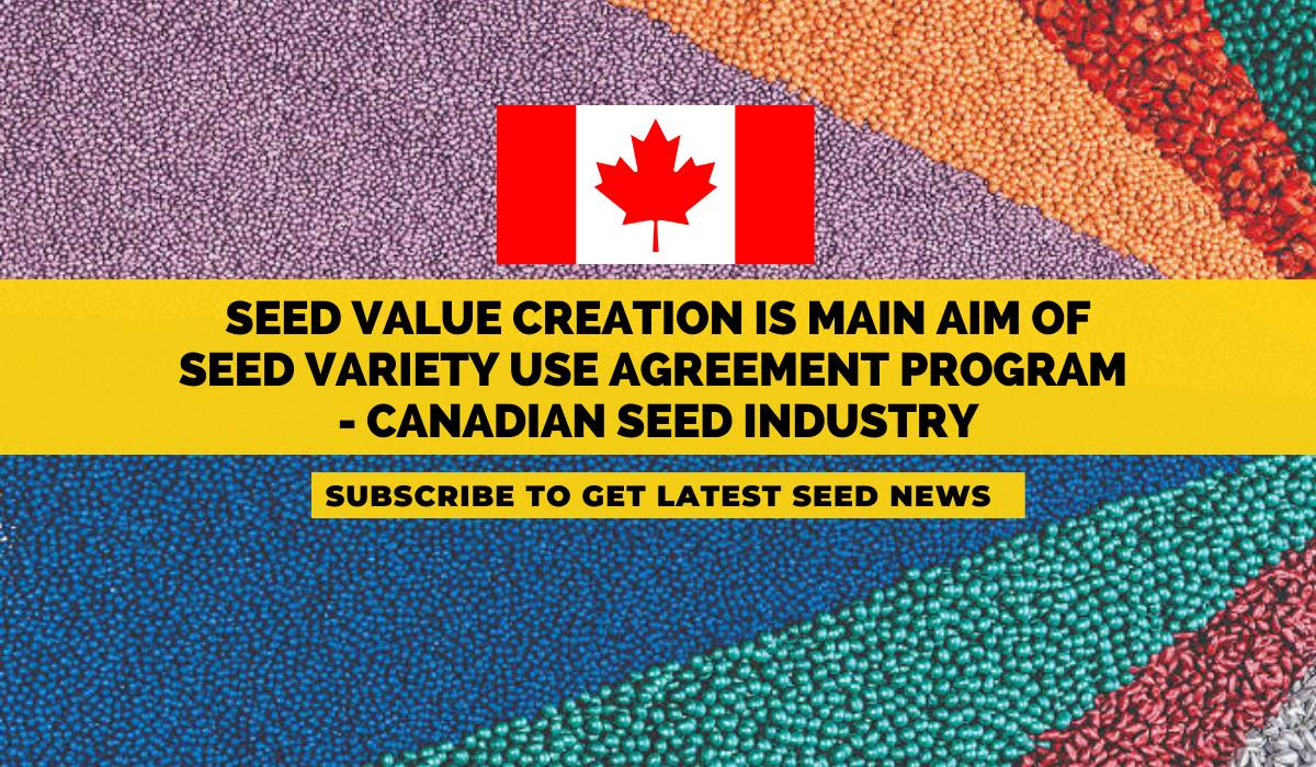 Seed value creation is main aim of Seed Variety Use Agreement program – Canadian Seed Industry
